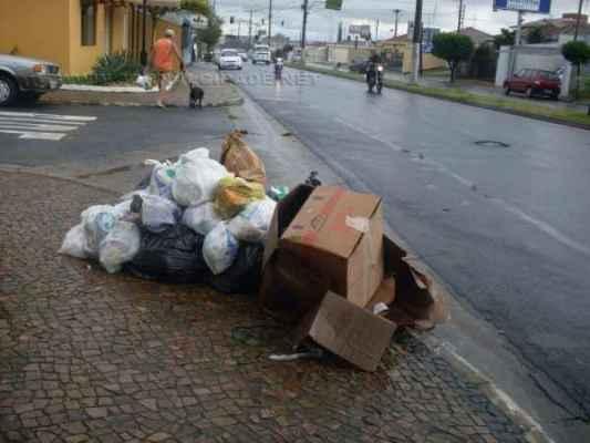 A coleta de lixo será realizada normalmente em Rio Claro na segunda
