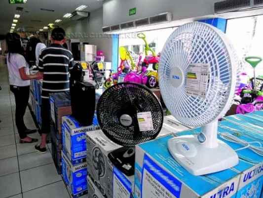 Carro-chefe das vendas têm sido os ventiladores, devido aos preços serem mais acessíveis