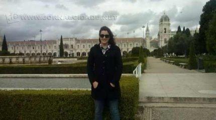 A escritora Marcella Chiapina em Portugal
