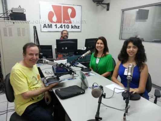 Jaime Leitão entrevista a professora Eliana e a aluna/escritora Giovana