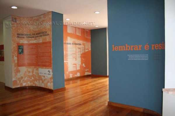 O Memorial da Resistência, sede do evento, tem exposições com informações sobre o regime militar (Imagem: Reprodução)