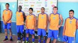 Os novos contratados foram oficialmente apresentados pela diretoria na tarde da última quarta-feira (3), no estádio Schmidtão
