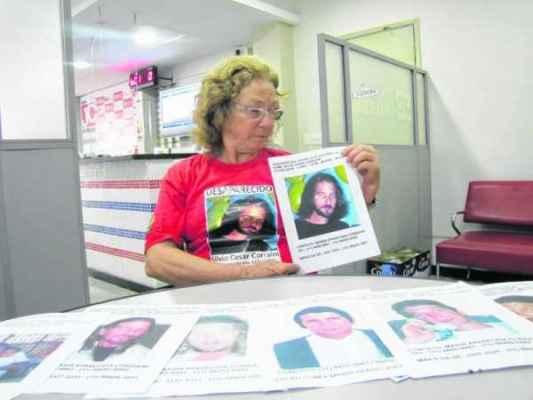 Silvio está desaparecido desde 2011. Informações sobre seu paradeiro pelos telefones: (11) 4455-9941 e (11) 99292-0492