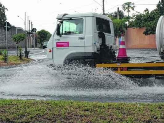 NATAL CHUVOSO: segundo a previsão fornecida pela Defesa Civil, a chuva deve continuar em Rio Claro nos próximos dias