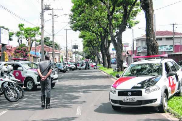 Roubos caíram 23% em Rio Claro, com 1.074 registros em 2014 ante 1.398 casos no mesmo período de 2013. Na foto, operação da PM contra roubo de veículos