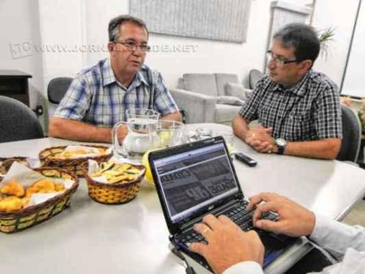 O atual presidente da Câmara Agnelo Matos (PT) e o sucessor João Zaine (PMDB deram entrevista ao JC esta semana
