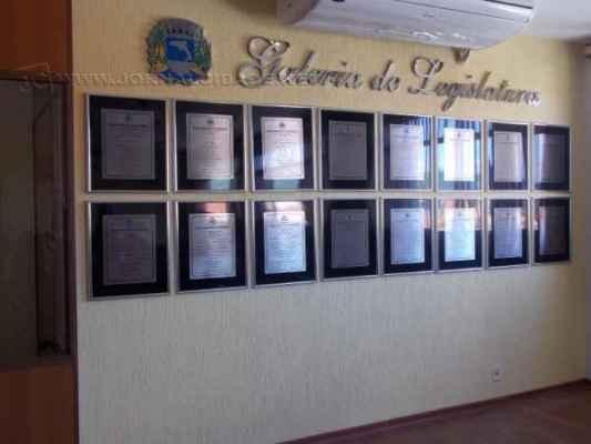 O plenário está aberto à visitação do público desde o dia 03 de dezembro