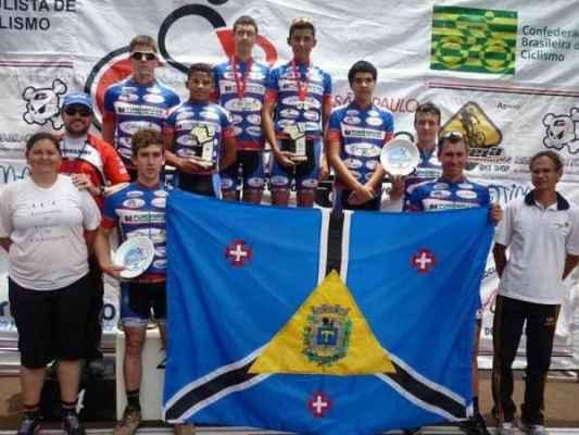 A equipe de Ciclismo conquista o 8º lugar no ranking