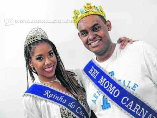Nathália Helena Garcia e Renan Vinícius de Almeida vão contagiar os foliões nos eventos carnavalescos de Rio Claro