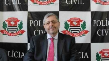O novo delegado seccional do município Miguel Wil Cornacchioni Escrivão