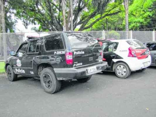 FLAGRANTE:acusado foi localizado tempos depois e acabou preso por policiais militares