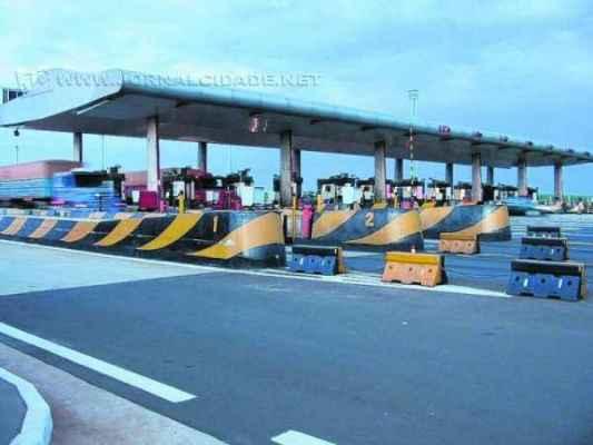 Os valores são correspondentes às praças de pedágios nas principais rodovias que cortam o município de Rio Claro