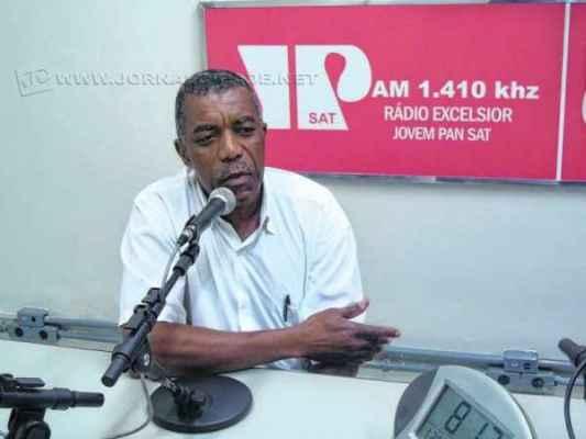 Antônio Marcos Faria, presidente da União das Escolas de Samba da Cidade Azul (Uesca), em entrevista ao Jorna da Manhã, sobre os preparativos do Carnaval