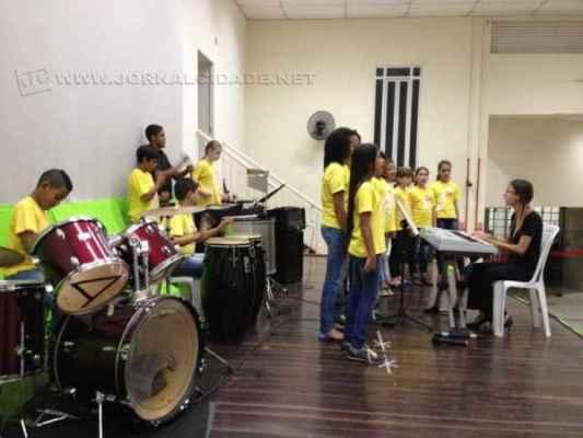 Polo do Projeto Guri em Cordeirópolis oferece 130 vagas para crianças e jovens interessados