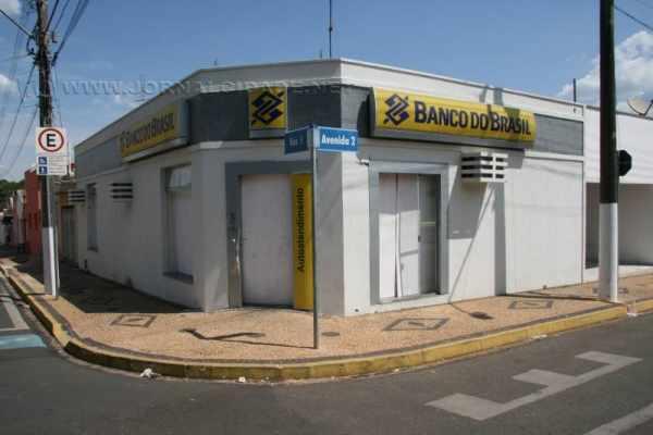 Agência do Banco do Brasil em Ipeúna foi explodida por quadrilha fortemente armada no final do mês passado