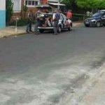 O leitor Marcos Antonio Ferreira enviou foto da ação pelo WhatsApp da Redação do JC. Entre em contato também pelo (19) 9-9942-4100