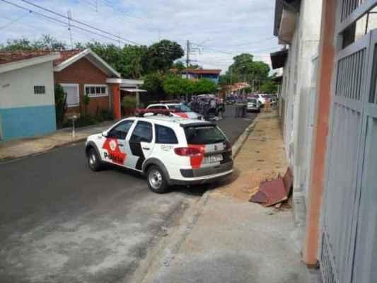 O morador Marcos Antonio Ferreira enviou foto da ação pelo WhatsApp da Redação do JC. Entre em contato também pelo (19) 9-9942-4100