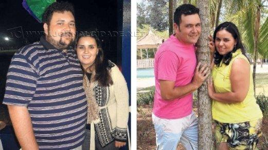 O atendente Roger Silva perdeu 50 quilos em um ano, apenas adotando uma rotina de exercícios físicos e alimentação balanceada: