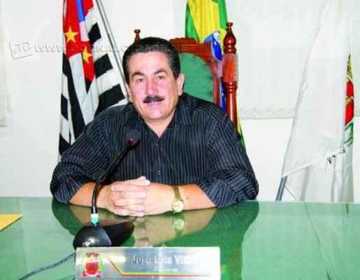 """O atual presidente da Câmara de Santa Gertrudes, """"Ratinho"""" (PMDB)."""