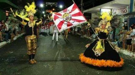 Escola de Samba Tigre de Ouro desfila em Santa Gertrudes trazendo para a Avenida o tema 'O Cinema de Hollywood'