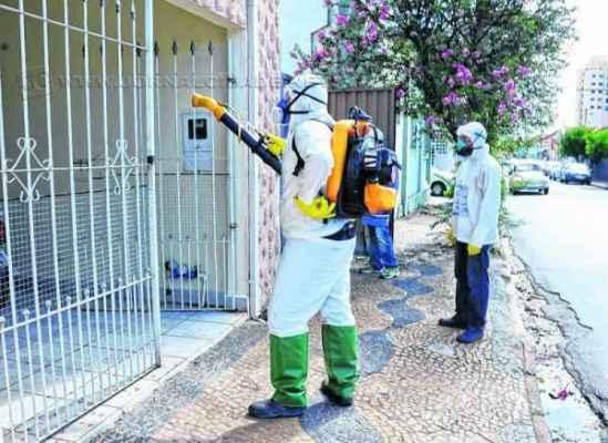 Equipes de combate à dengue da Fundação Municipal de Saúde farão nebulização no bairro Santa Elisa nesta terça-feira