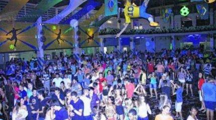 Grêmio e Ginástico (foto) oferecem ampla programação nos dias de carnaval