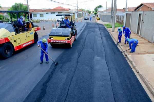 No total, 17.589,62 metros quadrados de vias públicas serão recapeados