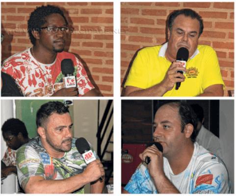Dirigentes participaram de encontro para discutir situação do carnaval em RC