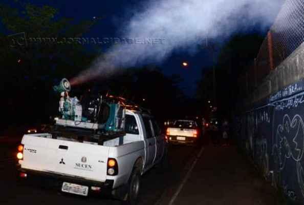 Rio Claro, com 5.862 casos da doença, deu início à nebulização das ruas