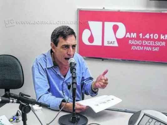 Na imagem de arquivo, o ex-superintendente do Procon de Rio Claro, Sérgio Santoro (PMDB)