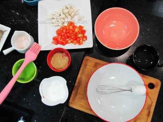 Separe os ingredientes e bote a mão na massa!