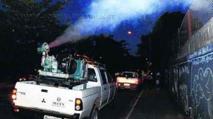 Sucen terminou nebulização na região do Santana na noite de quarta-feira (1º)