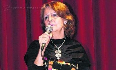 A Secretária Municipal de Educação, Heloisa Maria Cunha do Carmo (PT), durante discurso (Foto: Arquivo)
