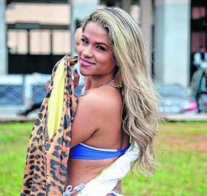 """Concursos para eleger """"musa"""" tornaram-se populares; Natalia Rios, a musa do Brasileirão"""