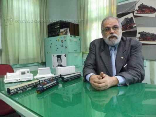 Irineu Carlos de Oliveira Prado é filho e neto de ferroviários e acredita que a reativação do trem de passageiros vai beneficiar não apenas o município de Rio Claro, mas toda a região.