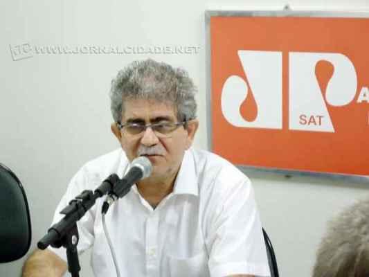 O prefeito Du Altimari esteve no estúdio da Rádio Excelsior Jovem Pan nesse sábado (18)