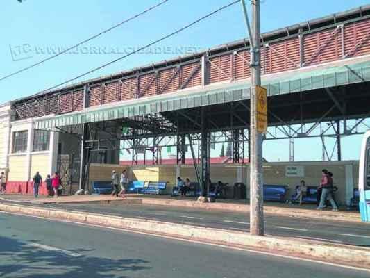 Antiga estação ferroviária é ponto de jovens aos finais de semana (foto arquivo)