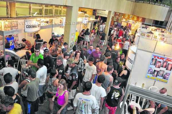 Público do Tattoo Fest costuma lotar o Centro Cultural durante os dias do evento, que neste ano acontece entre os dias 24 e 26