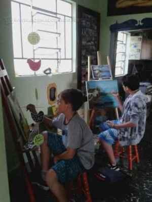 Espaço Cultural TOCA, em Corumbataí, também oferece aulas de música, desenho e pintura, além de recitais e saraus