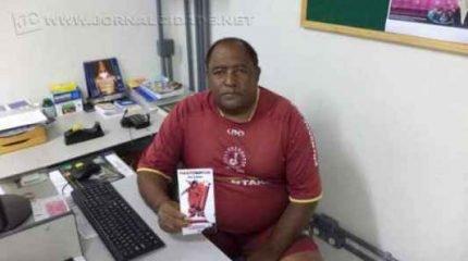 José Santana Neto, presidente do CSA Ajapi, no distrital do IX de Julho