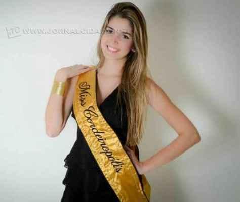 A Miss Cordeirópolis 2013, Camila Dias Mol