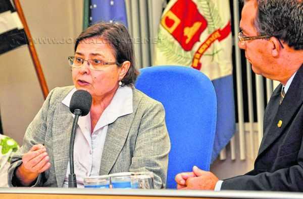 De acordo com a promotoria, a secretária Olga Salomão estará na reunião que acontecerá em Piracicaba (Foto: arquivo)