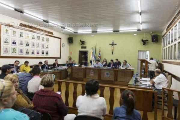 Sessão realizada no último dia 15 foi acompanhada por moradores da cidade