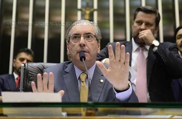 Eduardo Cunha (PMDB)  presidente da Câmara dos Deputados.