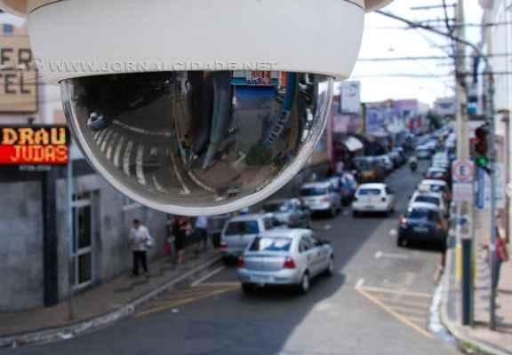 Na imagem de arquivo, câmera de monitoramento em Rio Claro