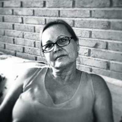 A pedagoga Lúcia Helena Ferreira Camargo