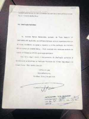 Documento protocolado na Justiça Eleitoral, na quinta-feira (16), às 13h, comprova a desfiliação de Perissinotto do PROS