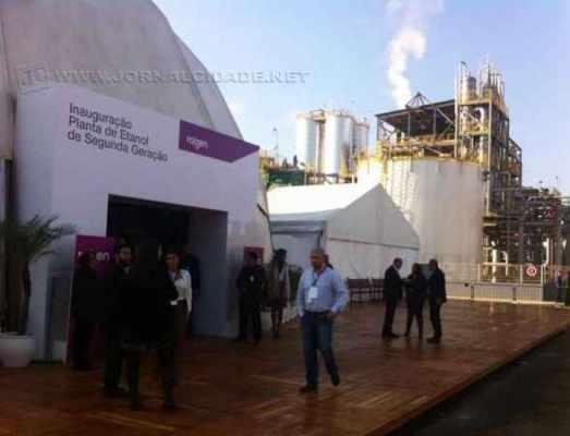 Usina de etanol em Piracicaba onde será realizado o encontro com a presidente Dilma