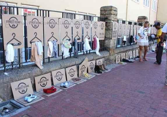 Imagens da primeira edição do projeto realizado na Cidade do Cabo, na África do Sul (Foto: divulgação)