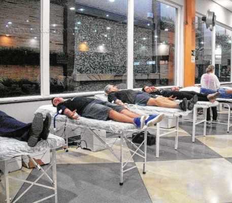 O grupo de voluntários já realizou diversas campanhas de doação de sangue e cadastro de medula óssea no Redome